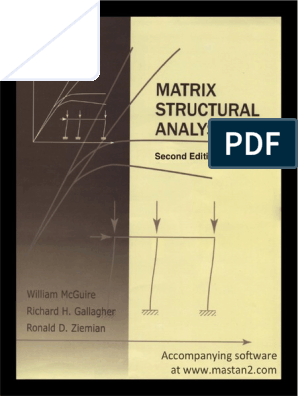 Matrix Structural Analysis 2nd Edition pdf | Structural