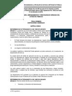 Ley de Adquisiciones, Arrendamientos y Prestación de Servicios Del Estado de Tabasco