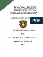 Silabo Salud Sexual 2014 en Correccion