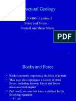 Lecture 05 Force and Stress S05