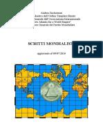 Il Manifesto del Partito Mondialista e altri scritti-mondialisti