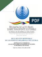 Declaracion-paises sin litoral transporte terrestre.pdf