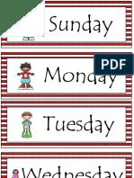 119379 Calendar Headings Dr. Seuss