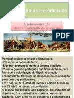 As Capitanias Hereditárias.ppt