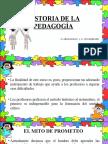 Historia de La Pedagogía