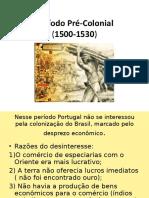 O Período Pré-Colonial.ppt