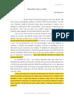 Artigo Foucault a Ética e a Obra