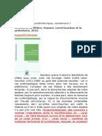 Une Ontologie Préhistorique Husserl Et Leroi-Gourhan