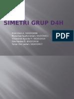 SIMETRI GRUP D4H