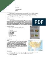 Geo History Lesson