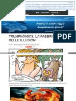 Trumpnomics La Fabbrica Delle Illusioni