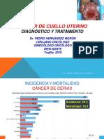 Cáncer de Cuello Uterino Dx y TX Dr. Hernández 2019