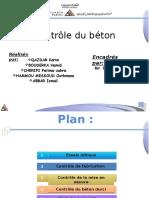 Contrôle Du Béton
