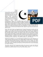 Religion Famplan