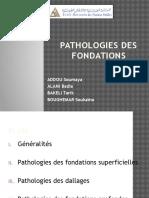Pathologies Fondations