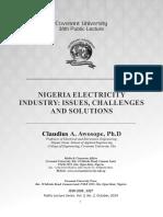 Historical Analysis of Nigeria Power