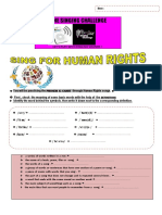 Sing for Human Rights Contest 2016