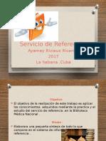 Presentacion Del Servicio de Referencia