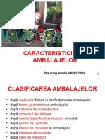 Caracteristici Ale Ambalajelor 2