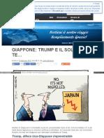 Giappone Trump e Il Sol Calante