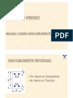 clase 6 - Analisis y Diseño Vigas Doblemente Reforzadas.pdf