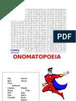 onomatopoeia word search