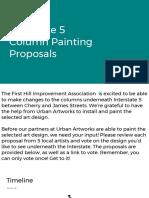 First Hill Improvement Association - I-5 Column Proposals