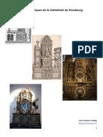 Les Trois Horloges Astronomiques de La Cathedrale de Strasbourg