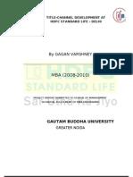 Channel Development at Hdfc Standard Life - Delhi
