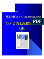 2013 Carte de Légitimation Seminaire Pre Retraite