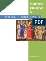 Simon Dubnov - Kratka Istorija Jevreja