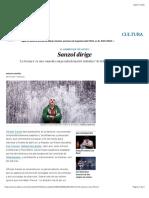 Sanzol dirige | Cultura | EL PAÍS