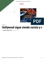 Hollywood Sigue Siendo Racista y Machista ‹ Nalgas y Libros