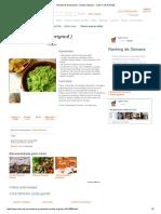 Receita de Guacamole ( Receita Original ) - Cyber Cook Receitas