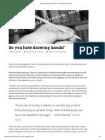 So you hate drawing hands_ _ Kiri Østergaard Leonard.pdf
