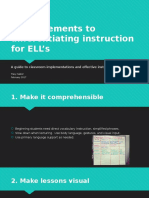 goal 13-differentiating for ells
