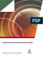 UC Planificacion Sistema OHSAS
