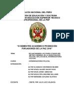 Monografia Interrogatorio Policial a2 Pnp Alvarado