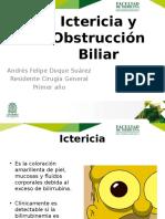 Ictericia y Obstrucción Biliar