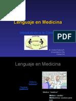 2. Lenguaje en Medicina