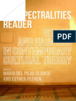 The Spectralities Reader - Ghosts and Haunting in Contemporary Cultural Theory