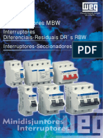 Elétrica - WEG_Disjuntores
