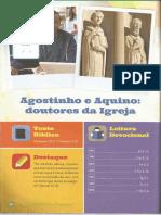 Lição 7 - Agostinho e Aquino - Doutores Da Igreja
