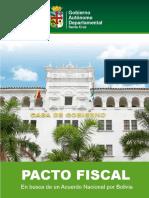 Propuesta de 50-50 para Pacto Fiscal