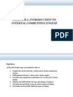 Introduction to Internal Combustion Engine