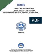 5. Silabus OSK/OSP/OSN Biologi SMA 2017