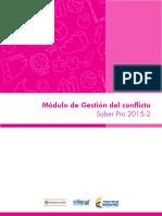 Guia de Orientacion Modulo de Gestion Del Conflicto Saber Pro 2015 2