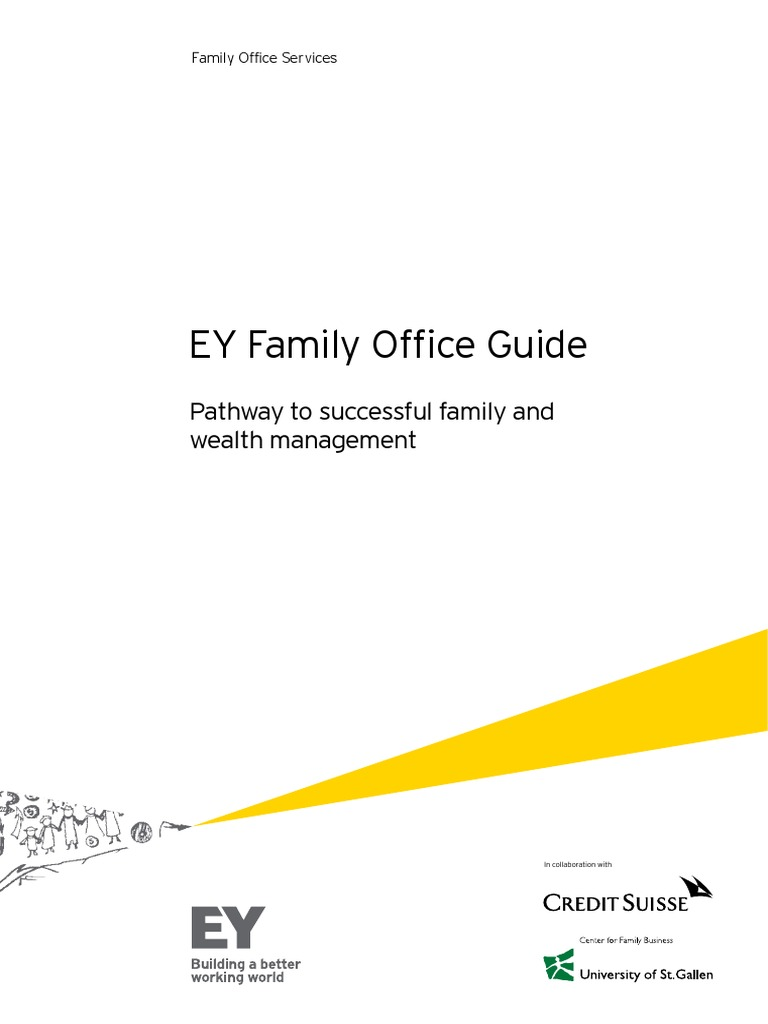 EY Family Office - Guide Single Final pdf | Wealth Management