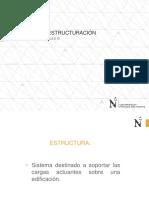 Criterios de Estructuracion