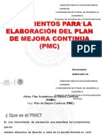 Lineamientos PMC